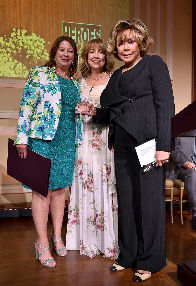Diahann Carroll was recognized with the Mary Pickford Award 2018