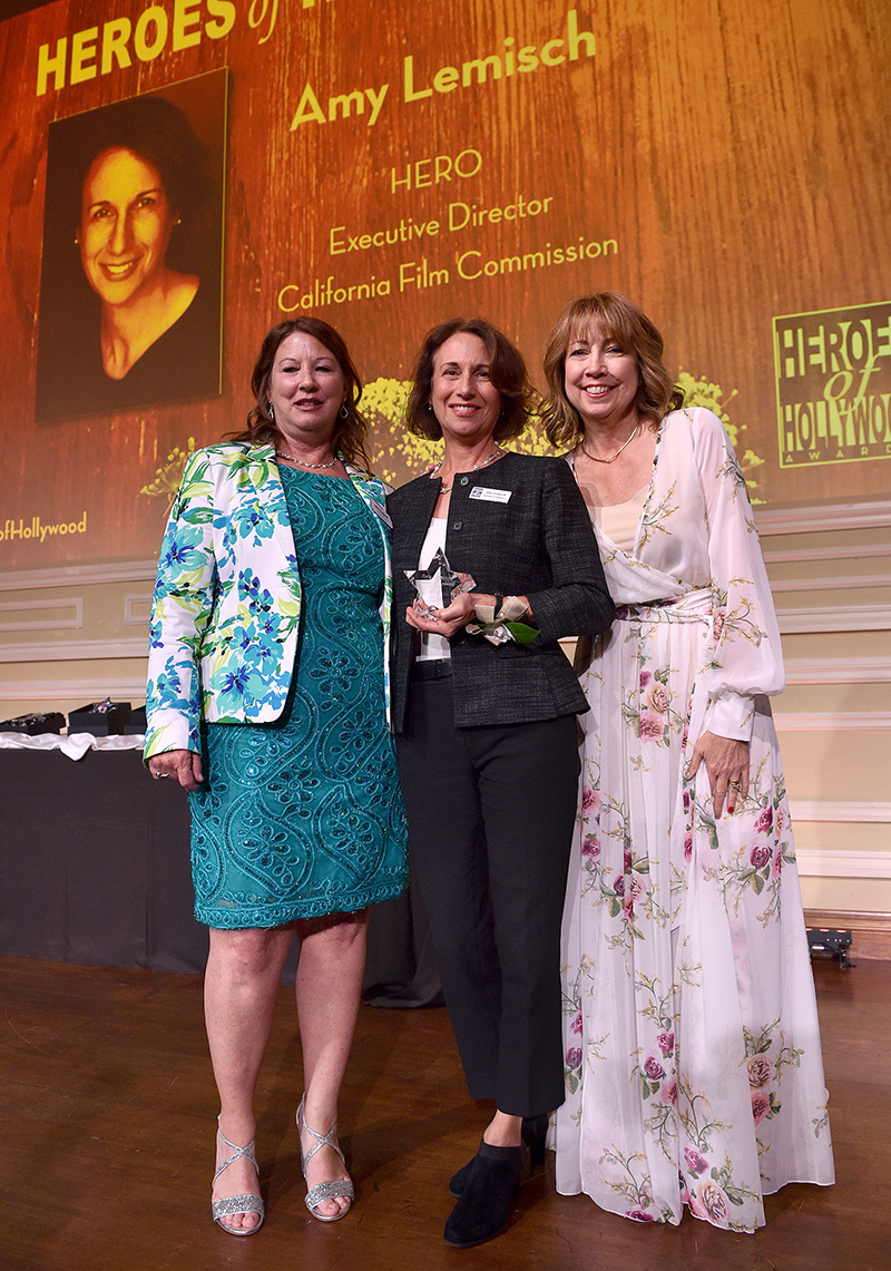 Amy Lemisch honored with Heroes of Hollywood 2018