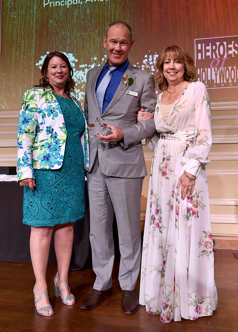John Tronson honored with Heroes of Hollywood 2018
