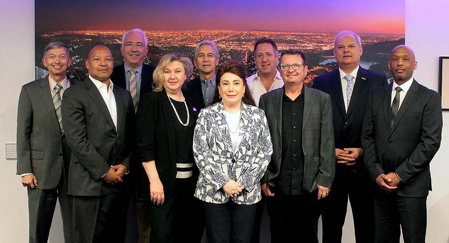 Hollywood Chamber of Commerce Executive Board 2018-19