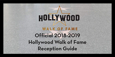 Hollywood Walk of Fame Reception Guide