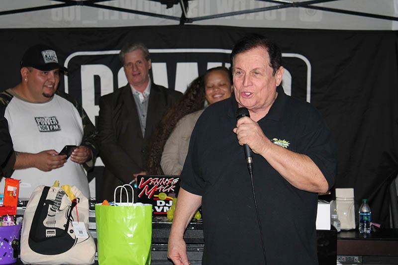 Burt Ward at the All Hallows' Eve Fundraiser.